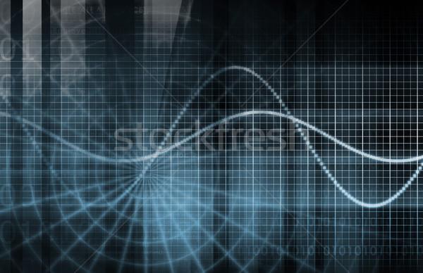 Business trends gegevens computer geld Stockfoto © kentoh