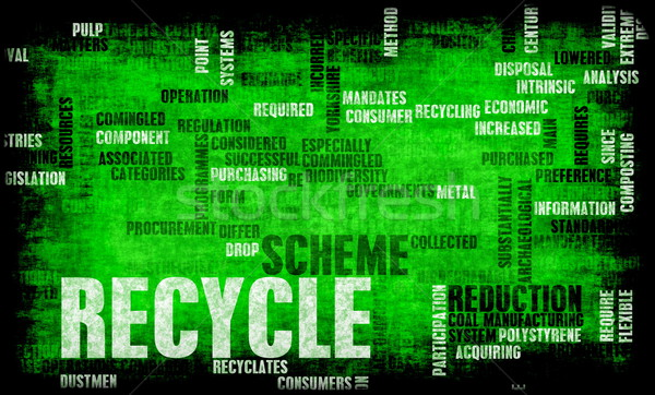 Recycle Concept Stock photo © kentoh