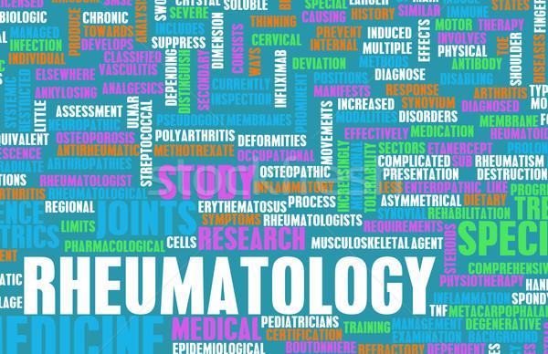 Orvosi mező specialitás iroda egészség tudomány Stock fotó © kentoh