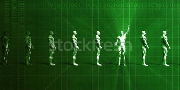 Business opleiding vaardigheden ontwikkeling achtergrond team Stockfoto © kentoh