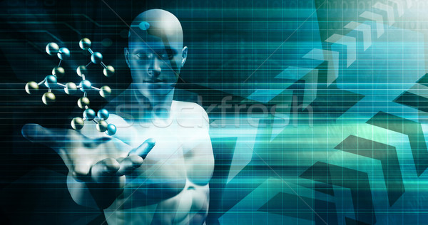 креативность бизнеса инновация дизайна технологий плакат Сток-фото © kentoh