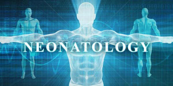 медицинской специальность области отдел человека тело Сток-фото © kentoh