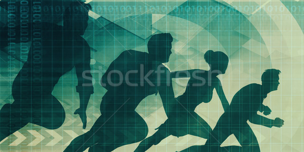 コア 価値観 会社 ビジネス 会議 グループ ストックフォト © kentoh