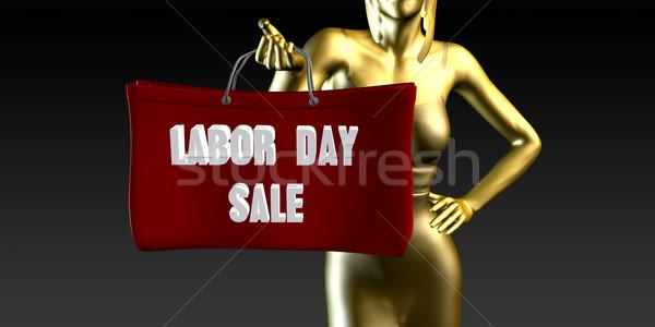 Labor Day Sale Stock photo © kentoh