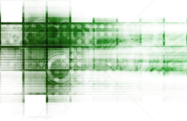 Bilgi teknolojisi iş Internet soyut tıbbi ışık Stok fotoğraf © kentoh