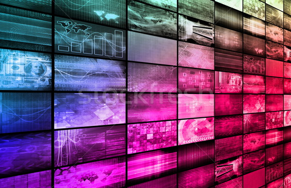 インターネット 高速 移動 データ 情報をもっと見る ストックフォト © kentoh