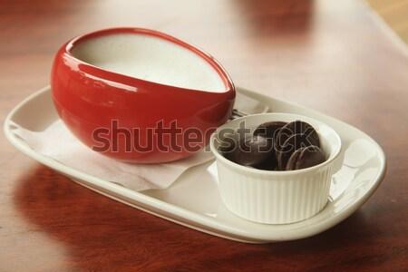 Hot Chocolate Stock photo © kentoh