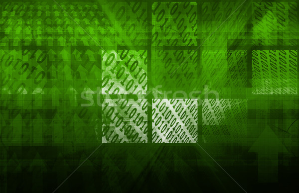 デジタル インターネット 抽象的な 背景 スペース ウェブ ストックフォト © kentoh