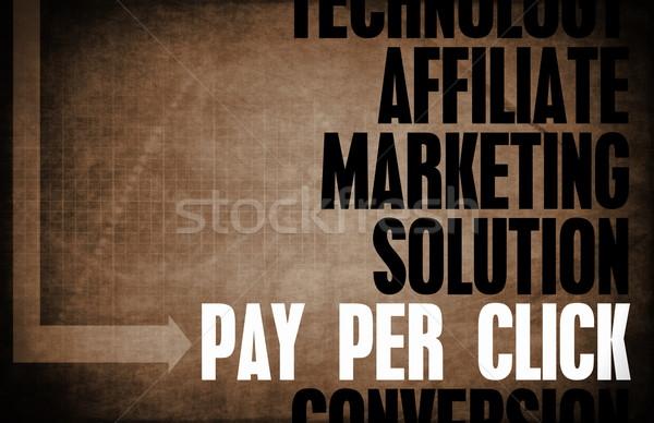 Salaris klikken kern principes business Stockfoto © kentoh