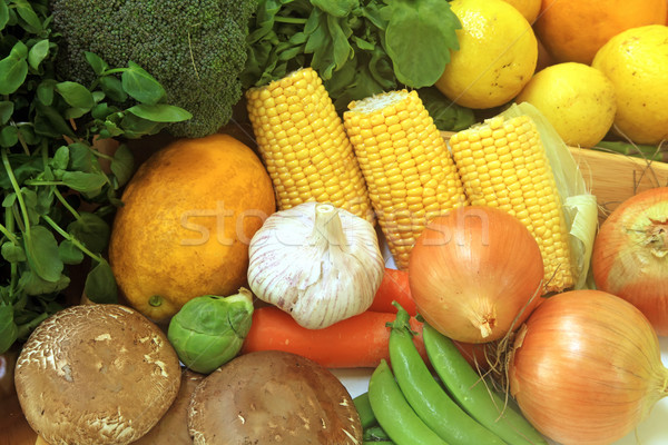 Fruits and Vegetables Stock photo © kentoh