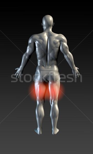 Hamstring Injury Stock photo © kentoh