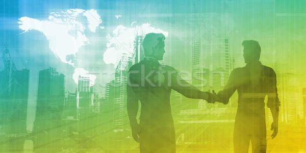 Business Meeting Foto stock © kentoh