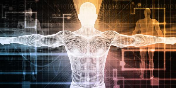 Elektronik tıp teknoloji kalp kan Stok fotoğraf © kentoh
