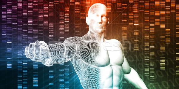 генетический инженерных науки исследований развития технологий Сток-фото © kentoh