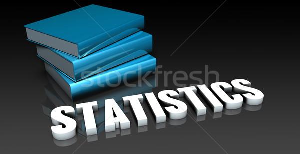 статистика класс школы образование книга книгах Сток-фото © kentoh
