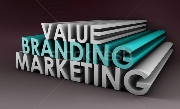 Branding and Marketing Stock photo © kentoh