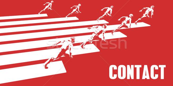 Contact Stock photo © kentoh