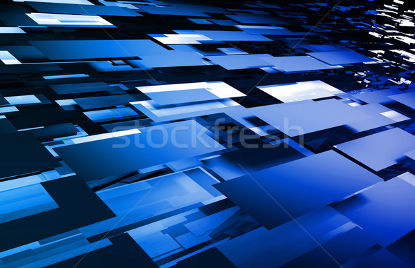 Futuristic Abstract Background Stock photo © kentoh