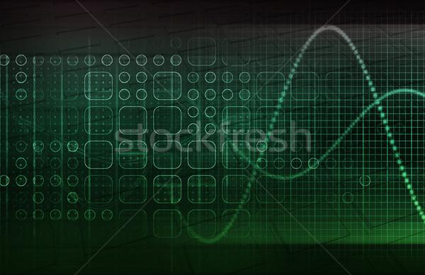Technologie trends toekomst textuur abstract medische Stockfoto © kentoh