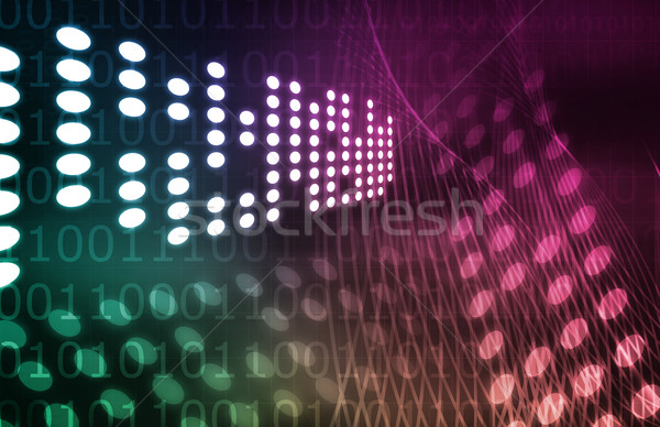 Digital Network Stock photo © kentoh