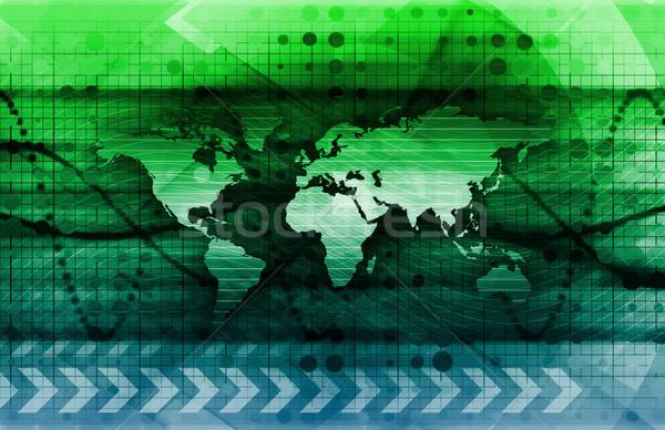 デジタル ソリューション 企業 ビジネス 芸術 インターネット ストックフォト © kentoh