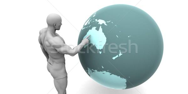 Business Expansion into Australia Stock photo © kentoh