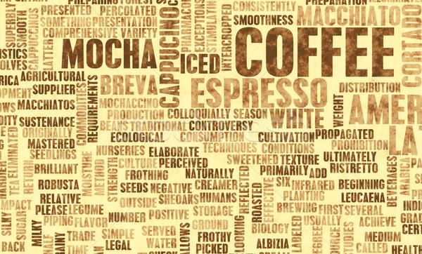 Coffee Varieties Stock photo © kentoh