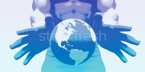 Strategia marketingowa branding handlowych reklama plan technologii Zdjęcia stock © kentoh