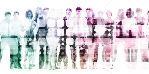 Organization Training Stock photo © kentoh