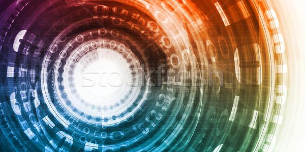 Gegevens analytics analyse technologie software oplossingen Stockfoto © kentoh