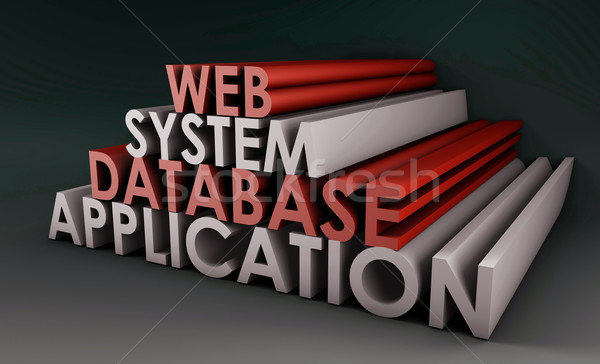 Web Application System Stock photo © kentoh