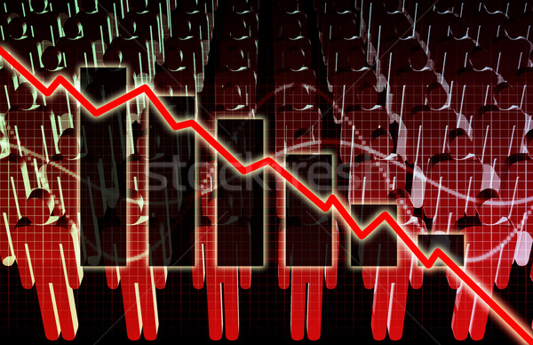 Rising Unemployment Stock photo © kentoh