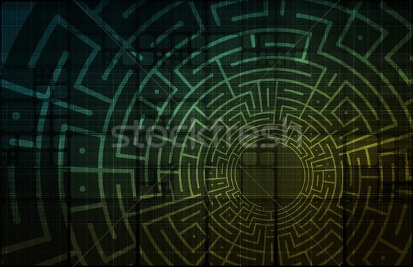 Информационные технологии данные сеть фон корпоративного компания Сток-фото © kentoh