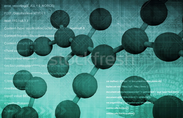 eHealth or Online Healthcare Stock photo © kentoh
