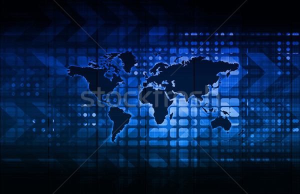 Global Business Logistics Stock photo © kentoh