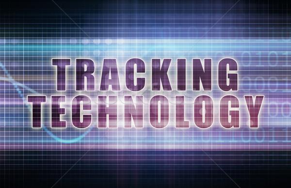 Tracking Technology Stock photo © kentoh