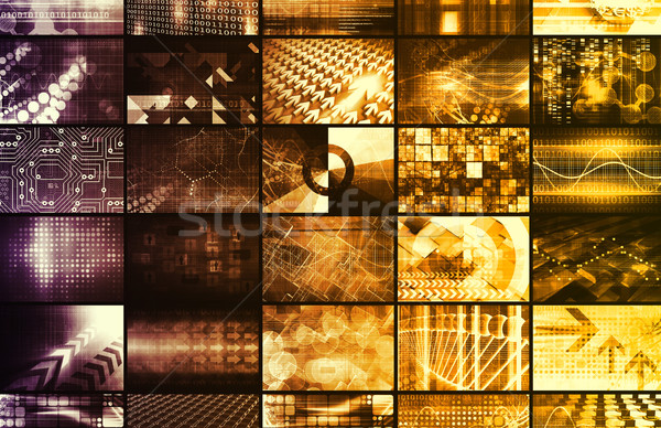 Integrated Management System Stock photo © kentoh