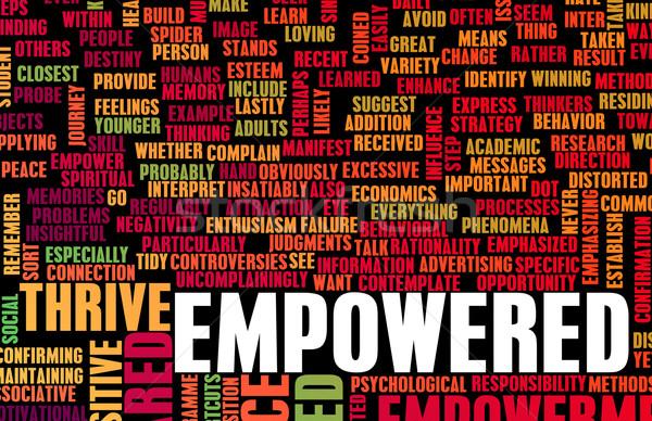 Empowered Stock photo © kentoh