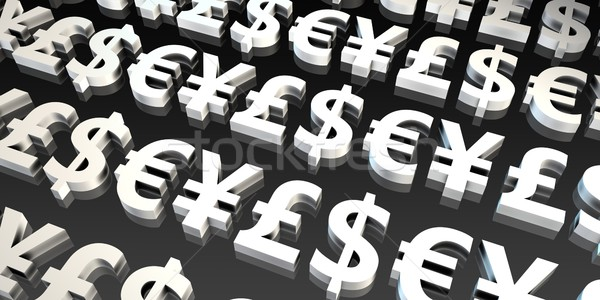 Currencies Background Stock photo © kentoh