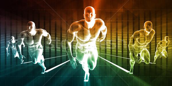 Badań rozwoju ciało nauki opieki zdrowotnej streszczenie Zdjęcia stock © kentoh