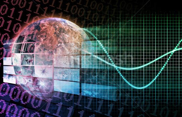 技術 周りに 世界 ネットワーク ソフトウェア 現代 ストックフォト © kentoh