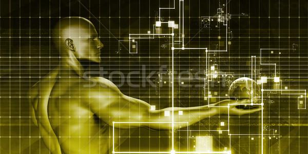 Abstrato biotecnologia
