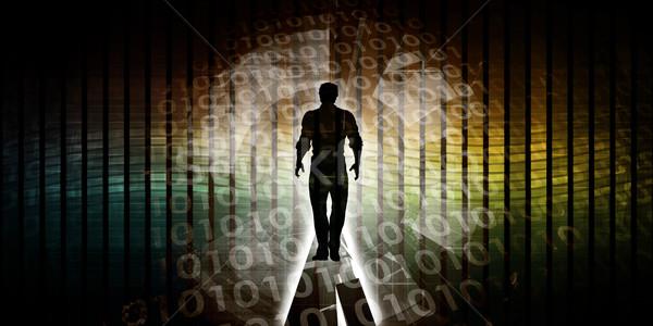 Kritikus technológia képességek fontos ipar tudás Stock fotó © kentoh