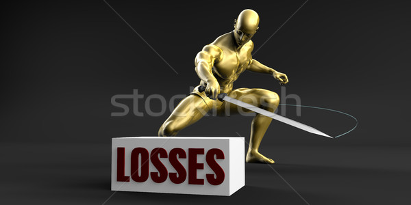 Reduce Losses Stock photo © kentoh