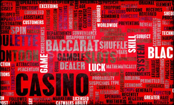 Casino Gaming Stock photo © kentoh