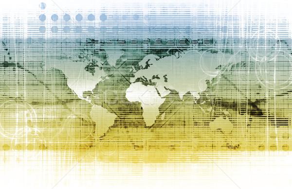 Intégré solutions web plate-forme croix vitesse Photo stock © kentoh