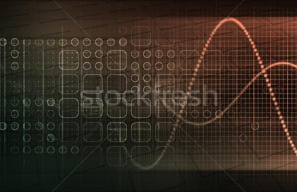 Teknoloji eğilimler gelecek doku soyut tıbbi Stok fotoğraf © kentoh
