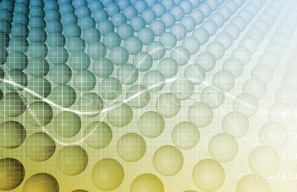 медицинской технологий корпоративного исследований интернет аннотация Сток-фото © kentoh