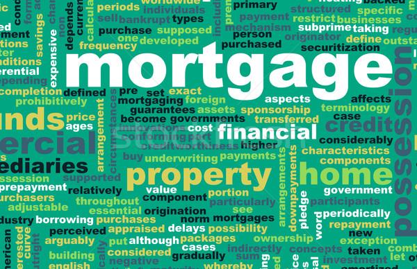 住宅ローン 金融 住宅ローン ホーム 銀行 情報 ストックフォト © kentoh
