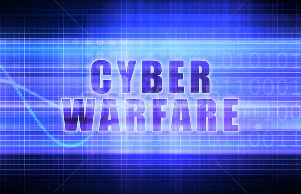 Cyber Warfare Stock photo © kentoh